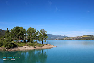 Lac de Serre Poncon, 13 Photos HD
