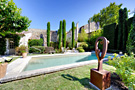 House in the village of Maussane les Alpilles with swimming pool