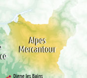 Holiday rentals in the Alps the and Mercantour National Park