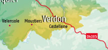 Holiday rentals  in Verdon