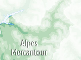 Campsites in Mercantour and Alps area