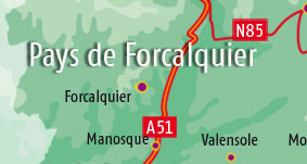 Holiday rentals in Forcalquier area