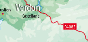 Campsites in Verdon