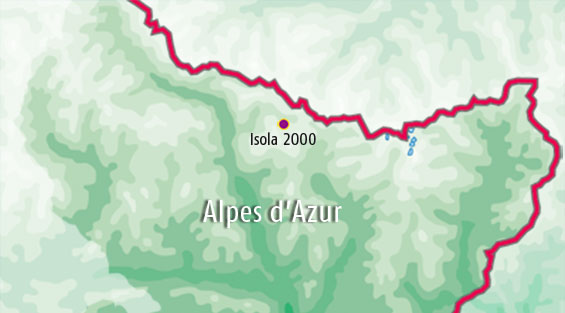 Camp sites in  Alpes d'Azur