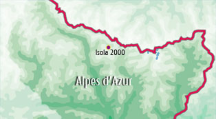 Bed and breakfast in the Alpes d'Azur