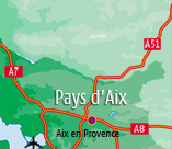 Holiday rentals in Aix en Provence area
