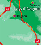 Hotels in Avignon area