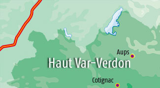 Hotels in the Verdon area and High Var