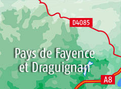 Bed and breakfast in Fayence and Draguignan area