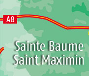 Bed and breakfast in Saint Maximin and Sainte Baume