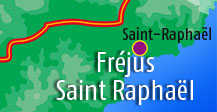 Hotels in Frejus and Saint Raphael area