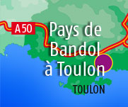 Locations Vacances de bandol a Toulon