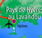 Hotels in  Hyeres and Le Lavandou area