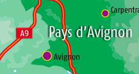 Camping sites in Avignon area