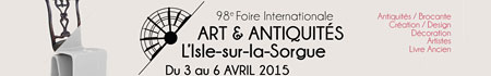 Easter Antiques Fair at Isle sur la Sorgue