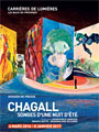 Chagall exhibition in Baux de Provence