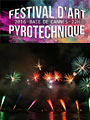 Festival d'art pyrotechnique à Cannes