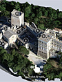 3D visit of the Montmajour Abbey in Arles