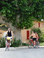 Cycling in the ochres in Luberon