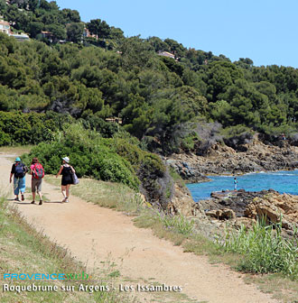 Hiking on the coast - Les Issambres