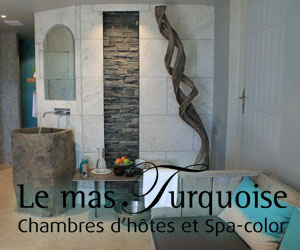 Le Mas Turquoise, bed and breakast and Spa-color