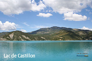 Photos du Lac de Castillon HD