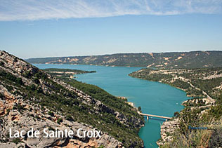 High definition photographs of the Sainte Croix lake