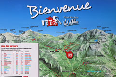 Allos, circuits VTT