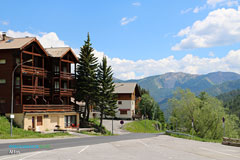 Allos, tourists residences