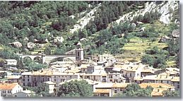 Annot, the village