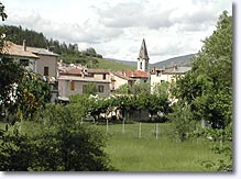Barrême, le village