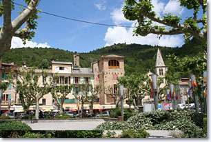 Castellane, place