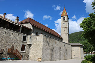 Colmars les Alpes, bell-tower
