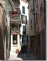 Entrevaux, rue