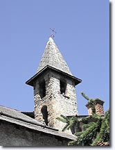 Faucon de Barcelonnette, clock tower