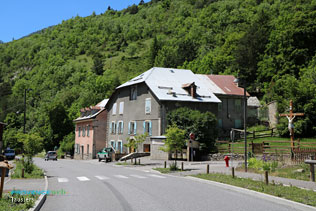 Jausiers, routes