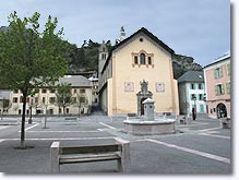 Jausiers, place