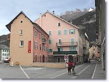Jausiers, streets