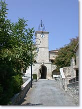 Lurs, bell-tower