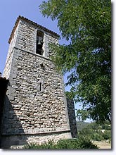 Montfuron, bell tower