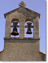 Montlaux, bell tower