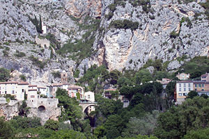Moustiers Sainte Marie, le village