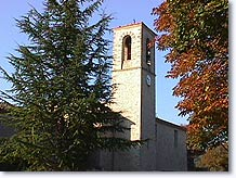 Niozelles, bell tower