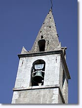 Noyers sur Jabron, bell tower