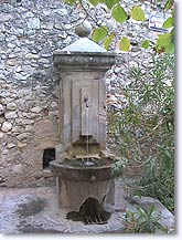 Peyruis, fountain
