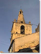 Peyruis, bell tower