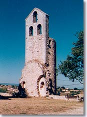 Reillanne, St. Pierre church tower