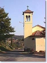 Salignac, church and its bell-tower