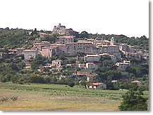 Simiane la Rotonde, le village