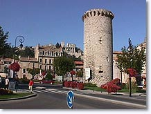 Sisteron, tower